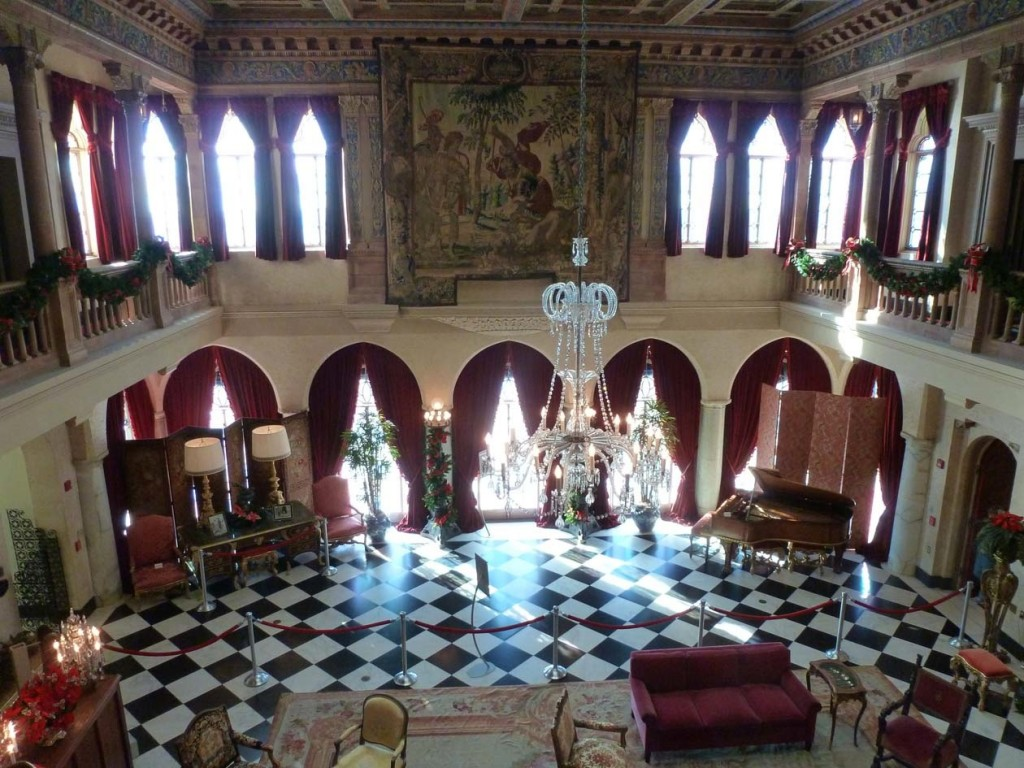 The Great Room at Ca'd'Zan, John and Mabel Ringling's dream home.