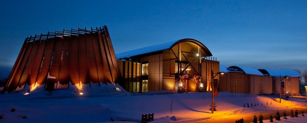 Hotel Musée Premieres Nation in Wendake, just outside Quebec City.