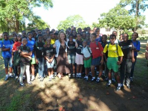 The Ngomane Primary School club has more than 90 members and a waiting list!