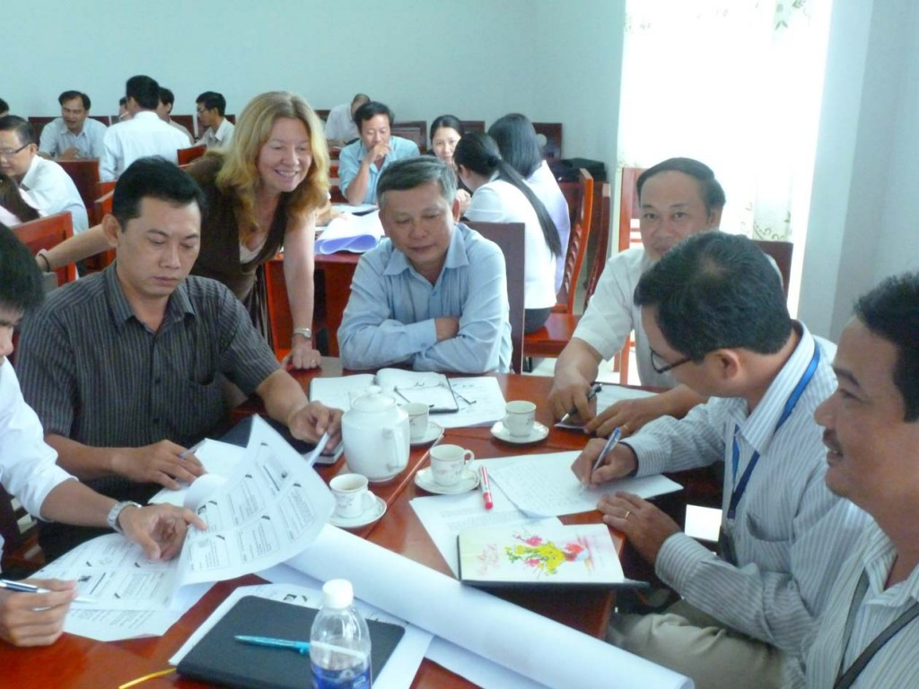 Kien Giang Tec: A very well-attended workshop.