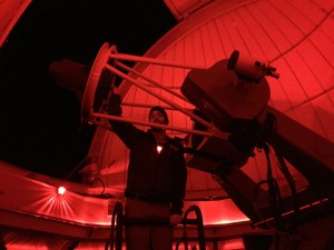 The mega telescope I saw Jupiter through.