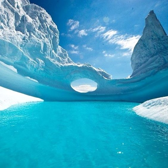A glimpse of Antarctica