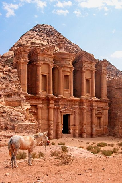 The Al Dier in Petra, Jordan(1)