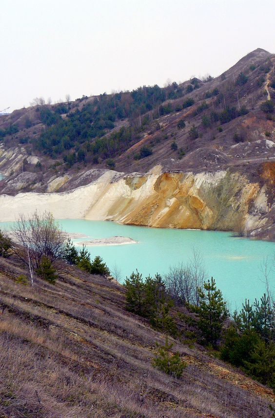 Volkovysk Chalk Quarries in Belarus