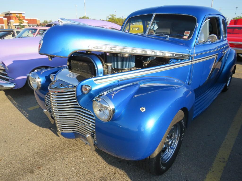 Blue1940sFord